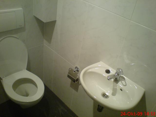 Inloopdouche Met Wasbak : Zwevend toilet wasbak wasmach. opstelling en inloopdouche